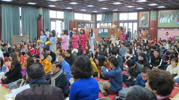 Les bouddhistes vietnamiens organisent un requiem de paix a Seoul hinh anh 1