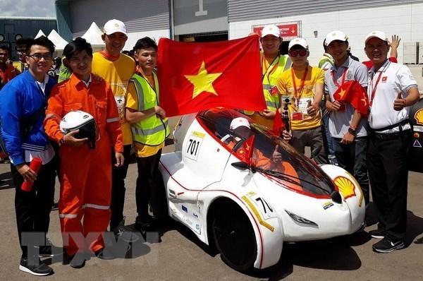 L'equipe LH-EST de l'Universite Lac Hong remporte le Shell Eco Marathon Asie 2018 hinh anh 1