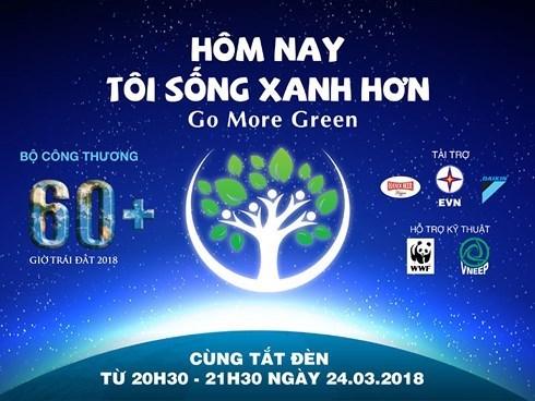 Lancement de la campagne « Heure pour la Terre 2018 » a Ho Chi Minh-Ville hinh anh 1