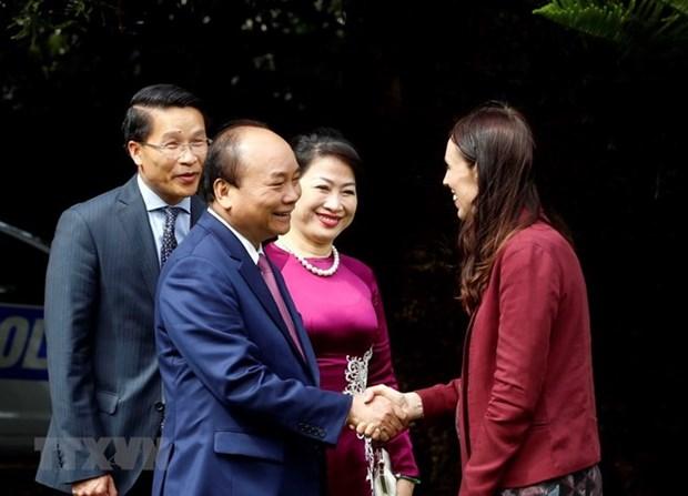 Entretien entre les Premiers ministre vietnamien et neo-zelandais hinh anh 1