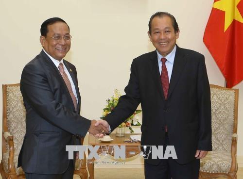Approfondissement des relations entre le Vietnam et le Myanmar hinh anh 1