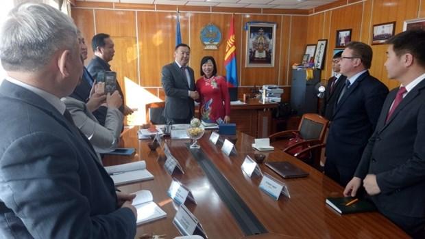 Khovsgol (Mongolie) souhaite renforcer sa cooperation avec le Vietnam hinh anh 1