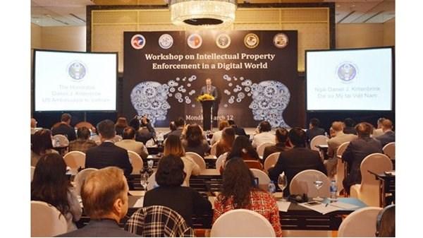 AmCham Vietnam : La protection de la propriete intellectuelle a l'ere numerique hinh anh 1