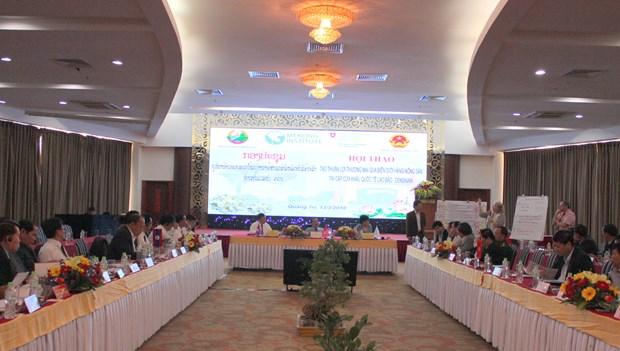 Renforcer la cooperation commerciale entre Quang Tri et Savannakhet hinh anh 1
