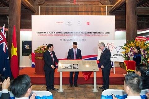 Vietnam - Australie: Volonte commune de parvenir au partenariat strategique hinh anh 2