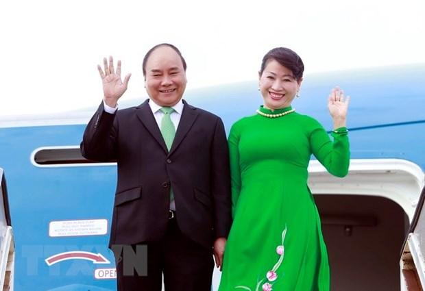 Le PM Nguyen Xuan Phuc entame sa visite officielle en Australie hinh anh 1