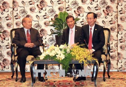 Ho Chi Minh-Ville recoit le ministre cambodgien des Cultes et des Religions hinh anh 1