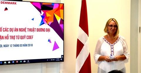 Devoilement de huit projets artistiques finances par le Danemark hinh anh 2