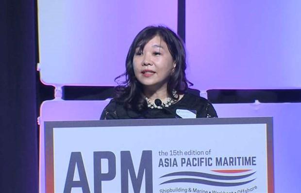 Ouverture de l'exposition maritime Asie-Pacifique a Singapour hinh anh 1
