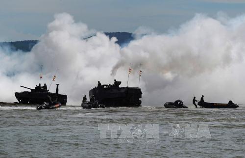 L'Indonesie appelle les pays membres de l'ASEAN a effectuer des patrouilles en mer Orientale hinh anh 1