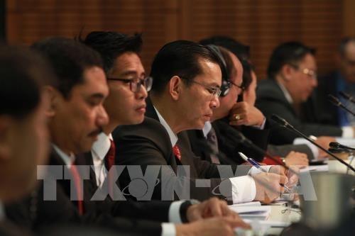 Lutte anti-terroriste: l'ASEAN et l'Australie signent un protocole d'accord hinh anh 1