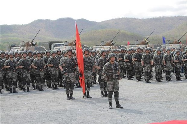 Le Cambodge et la Chine organisent leur 2e exercice conjoint ''Dragon d'or'' hinh anh 1