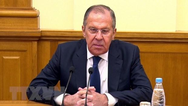 Le ministre russe des AE Sergei Lavrov apprecie hautement les relations Russie-Vietnam hinh anh 1