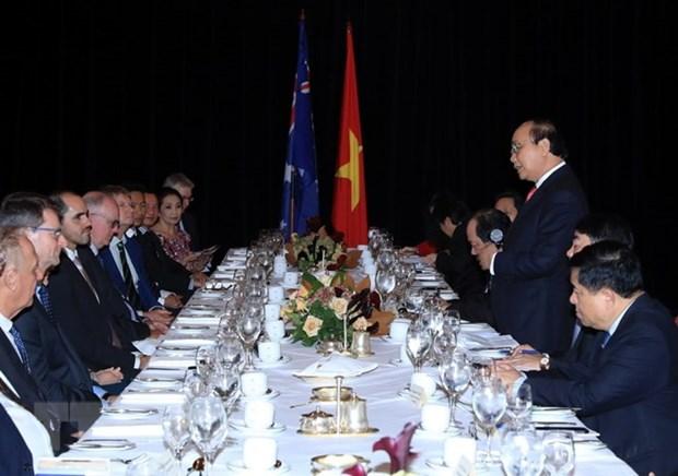 Le Vietnam s'engage a faciliter les investissements australiens hinh anh 1