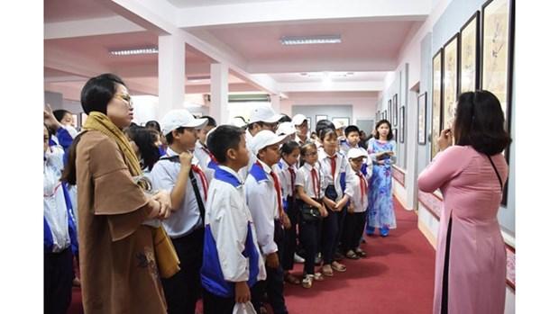 Exposition sur les estampes populaires du Vietnam a Gia Lai hinh anh 1
