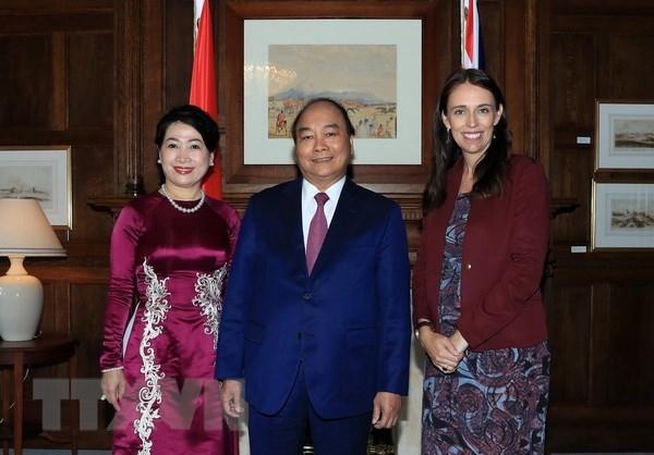 Le PM vietnamien termine sa visite officielle en Nouvelle-Zelande et en Australie hinh anh 1