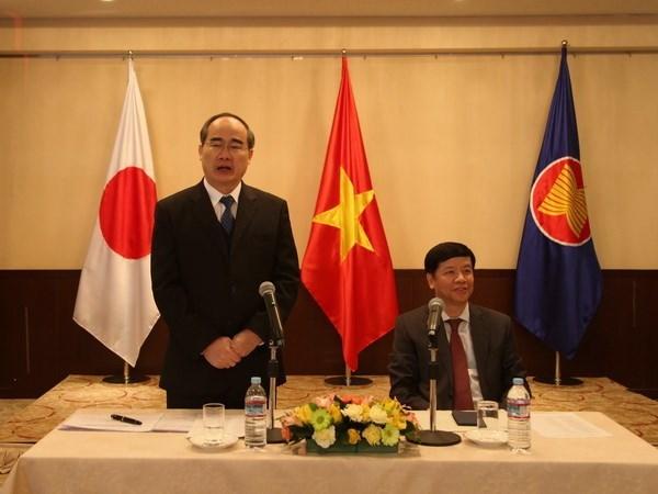 HCM-Ville appelle les Vietnamiens au Japon a contribuer au developpement de la ville hinh anh 1