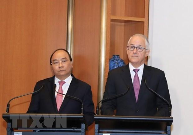 Le PM vietnamien termine sa visite officielle en Nouvelle-Zelande et en Australie hinh anh 2