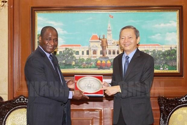 HCM-Ville souhaite renforcer la cooperation avec l'OIF hinh anh 1