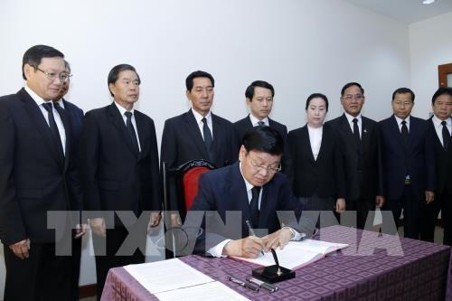Hommage a l'ancien Premier ministre Phan Van Khai a l'etranger hinh anh 1