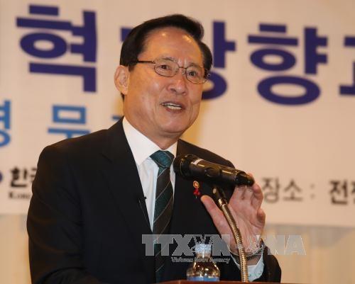 Republique de Coree et Singapour cooperent pour resoudre des questions liees a la securite hinh anh 1