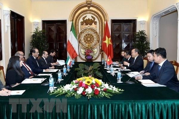 Le Vietnam et le Koweit tiennent leur troisieme consultation politique hinh anh 1