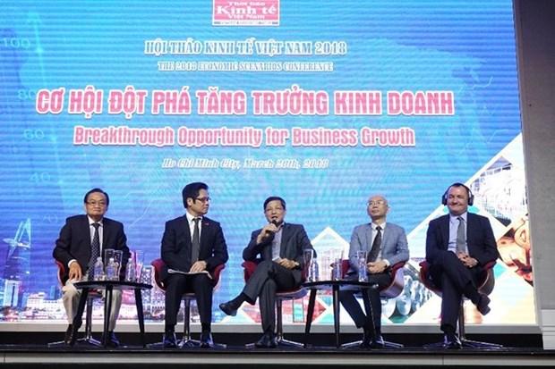 Opportunites de croissance d'affaires de l'economie du Vietnam en 2018 hinh anh 1