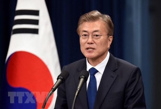 Le president sud-coreen veut porter les liens Vietnam-R. de Coree a une nouvelle hauteur hinh anh 1
