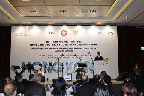 Hong Kong (Chine) cherche a renforcer la cooperation commerciale avec le Vietnam hinh anh 1