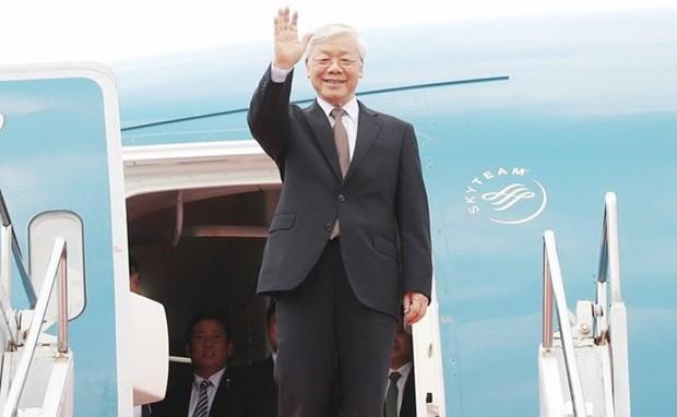 Le leader du PCV Nguyen Phu Trong effectuera des visites en France et a Cuba hinh anh 1