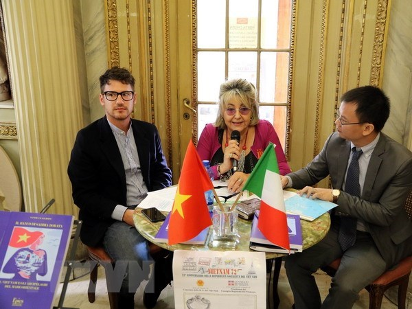 Les relations Vietnam-Italie sont en fort developpement hinh anh 1