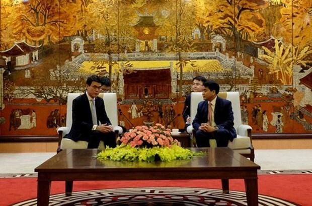 Hanoi et Hong Kong (Chine) cherchent un partenariat economique plus fort hinh anh 1