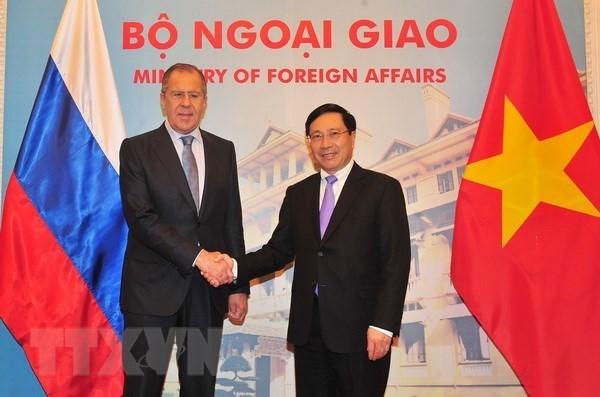 Le Vietnam et la Russie cherchent a renforcer leurs relations hinh anh 1