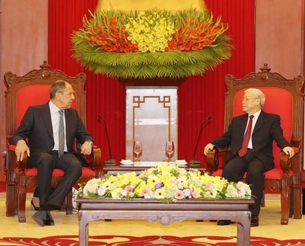 Le Vietnam souhaite renforcer ses liens multiformes avec la Russie hinh anh 1
