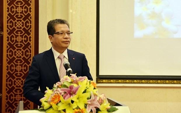 Echange d'amitie Vietnam-Laos en Chine hinh anh 1