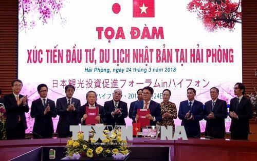 Les entreprises japonaises, une partie importante de l'economie de Hai Phong hinh anh 1