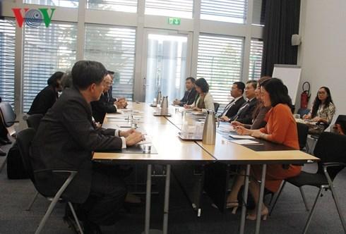Les organes legislatifs vietnamiens et thailandais renforcent leurs relations hinh anh 1