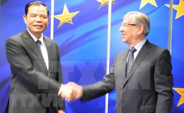 Le Vietnam renforce sa cooperation agricole avec l'UE et la Belgique hinh anh 1