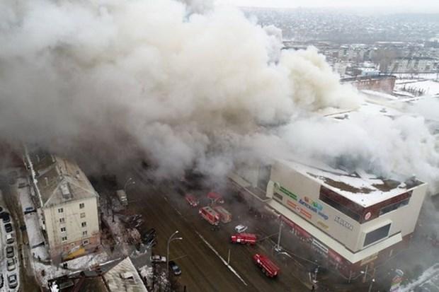 Incendie dans un centre commercial a Kemerovo : message de sympathie du Vietnam hinh anh 1