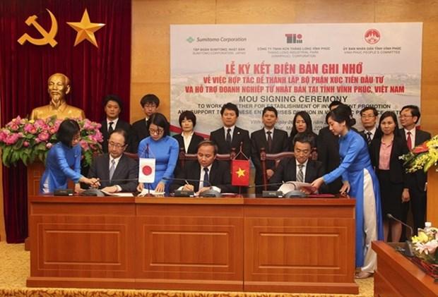 Des entreprises japonaises promeuvent les investissements a Vinh Phuc hinh anh 1