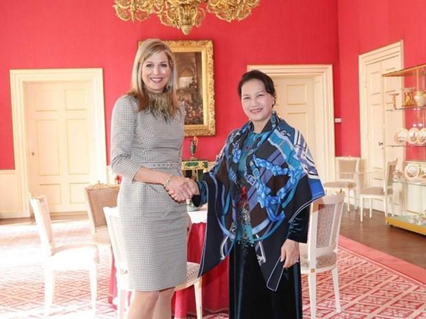 Poursuite des activites de la presidente de l'AN Nguyen Thi Kim Ngan aux Pays-Bas hinh anh 1