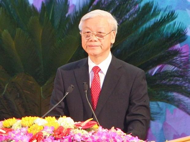 La visite du leader du PCV Nguyen Phu Trong largement couverte par les medias cubains hinh anh 1