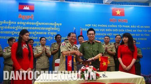 Cooperation renforcee dans la lutte contre la criminalite a la frontiere Vietnam-Cambodge hinh anh 1