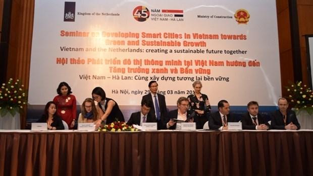 Vietnam-Pays-Bas : Developpement des centres urbains intelligents vers une croissance verte hinh anh 1