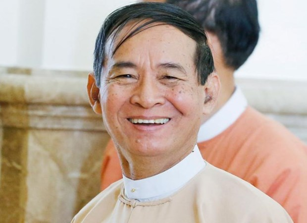 Le nouveau president birman prete serment hinh anh 1