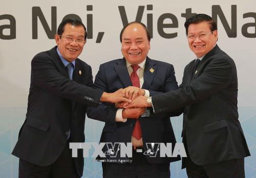 Conference de presse sur le 10e Sommet Cambodge-Laos-Vietnam hinh anh 1