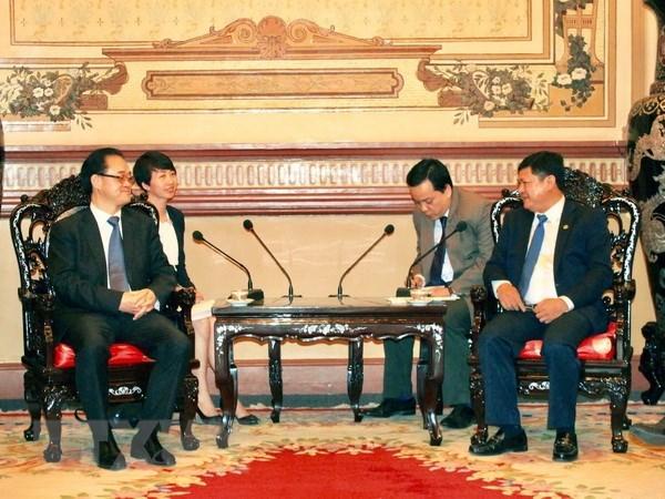 Ho Chi Minh-Ville renforce sa cooperation avec la ville chinoise de Chongqing hinh anh 1