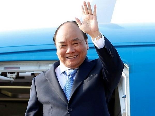 Le PM Nguyen Xuan Phuc assistera au 3 Sommet de la Commission du Mekong a Siem Riep hinh anh 1
