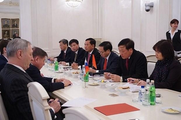 Vietnam-Russie: cooperation renforcee entre les instances judiciaires hinh anh 1