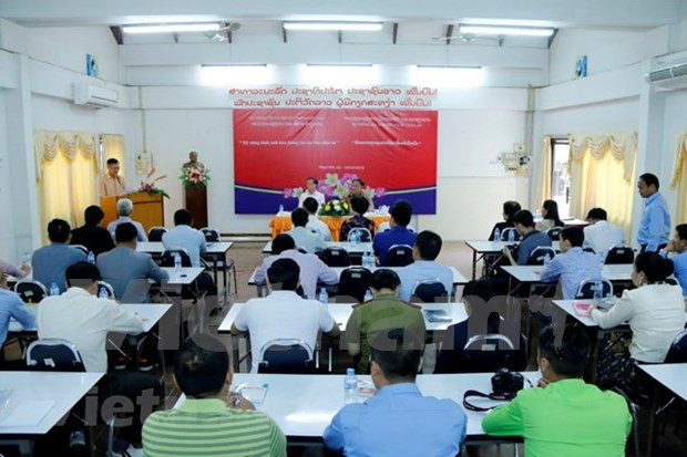 Cours de formation en competences journalistique au Laos hinh anh 1
